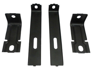 1977 - 1978 Firebird Radiator Core Support Bracket and Brace 4 Piece Set