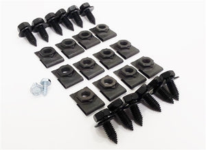 1970 - 1973 Camaro STD & RS Front Spoiler Hardware Set with Bolts, Clip Nuts and Screws