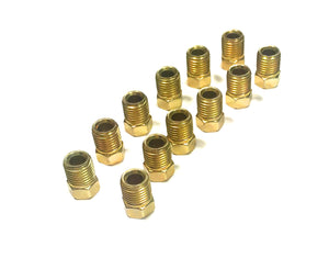 "Pack of 12 3/8"" - 24 Fittings for 3/16"" tube"
