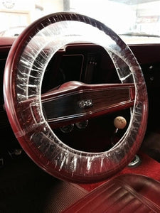 Protective Plastic Steering Wheel Cover