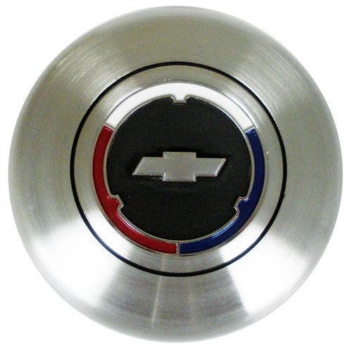 Woodgrain and Comfort Grip Steering Wheel Horn Button Cap - USA Made