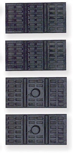 1967 - 1969 Camaro and Firebird GM Rear Mono / Single Leaf Spring Insulator Pads, Set of 4