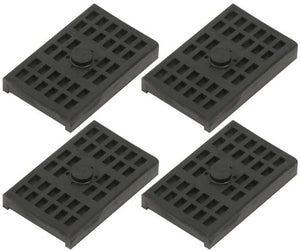 1968 - 1981 Rear Multi Leaf Spring Insulator Pads GM, Set of 4