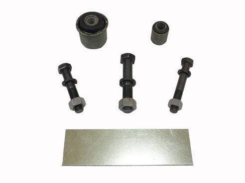 1967 Rear End Axle Traction Bar Rebuild and Mounting Kit, I-Beam or Square Version