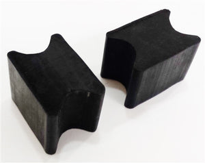 Universal Front Coil Spring Repair Riser Booster Rubber Lift Blocks, 1""