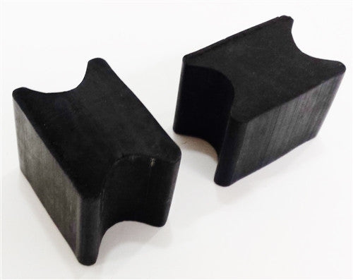 Universal Front Coil Spring Repair Riser Booster Rubber Lift Blocks, 1