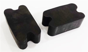 Universal Front Coil Spring Repair Riser Booster Rubber Lift Blocks, 2""