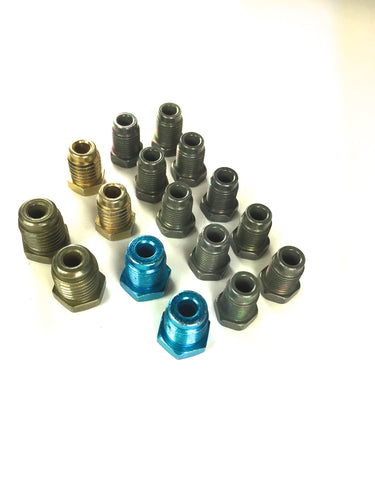 Metric Brake Line Fitting Kit for 3/16