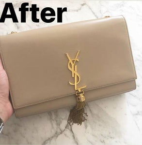 Saint Laurent Nude Tassel Satchel Restoration