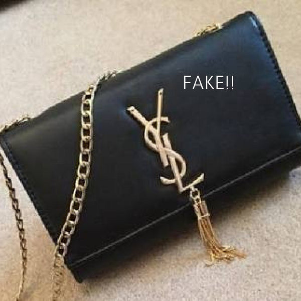 How to spot a fake Saint Laurent bag