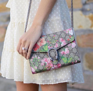 Gucci Dionysus Blooms print chain bag