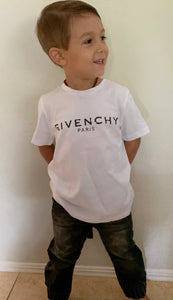 Givenchy kids logo Tee Size 6