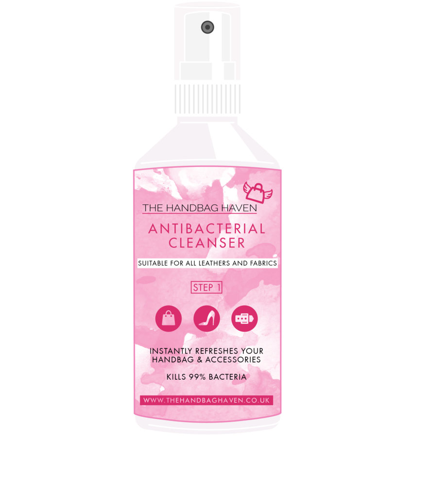 The Handbag Haven - Antibacterial cleanser