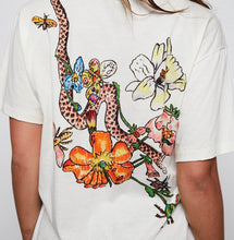 Gucci floral & snake print Tee - size small
