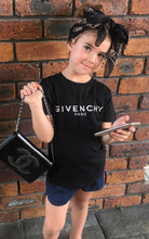 Givenchy kids logo Tee Black - Size 6