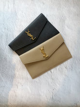 Saint Laurent Uptown pouch - Dark Nude