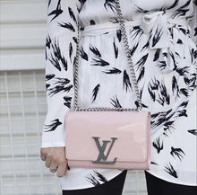 Louis Vuitton Pink & Silver Louise MM