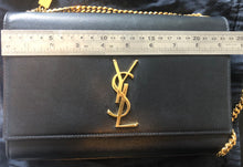 SAINT LAURENT BLACK SATCHEL – MEDIUM