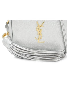 Saint Laurent Blogger Bag - Silver