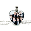 2017 New Trendy BTS Wings Teaser Heart Necklace