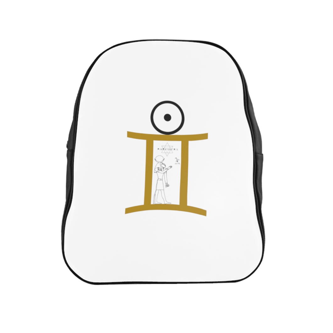 GEMINI SUN TRIBE School Backpack