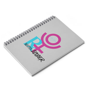 PLUTO RETROGRADE MATRIX RECODER Spiral Notebook - Ruled Line