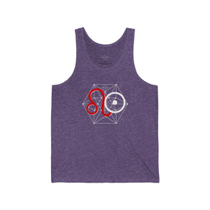 Leo Sun Tribe Tank for Men and Women by PIMPMYMATRIX