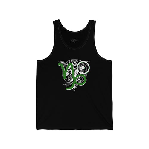 Capricorn Sun Tribe Tank for Men and Women by PIMPMYMATRIX