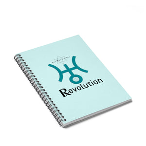 URANUS RETROGRADE REVOLUTION Spiral Notebook - Ruled Line