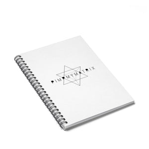 PIMPMYMATRIX Spiral Notebook - Ruled Line