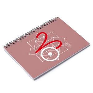 Aries Sun Tribe Notebook