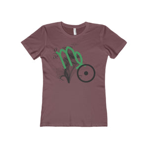 VIRGO SUN TRIBE Women's The Boyfriend Tee