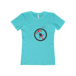 SAGITTARIUS SUN TRIBE Women's The Boyfriend Tee