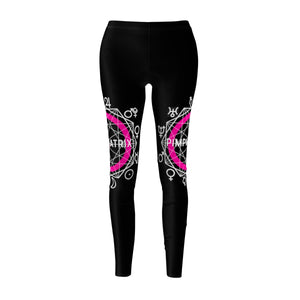 Black PIMPMYMATRIX Yoga Pants