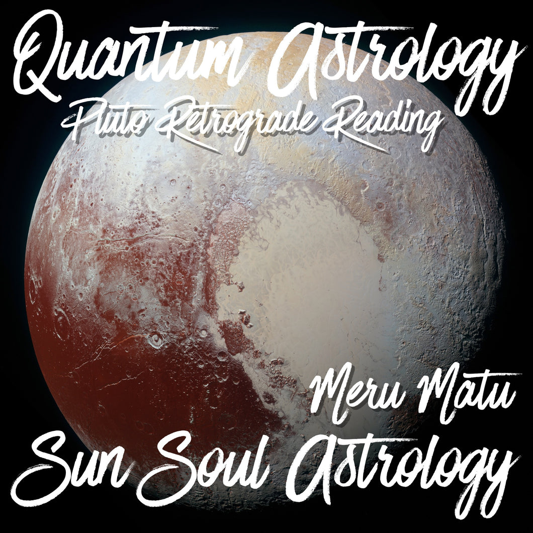 Pluto Retrograde Special with Meru Matu