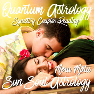 Synastry Couples Reading with Meru Matu or Aquarius Roberts