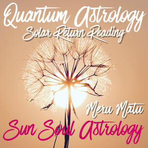 Solar Return Reading with Meru Matu