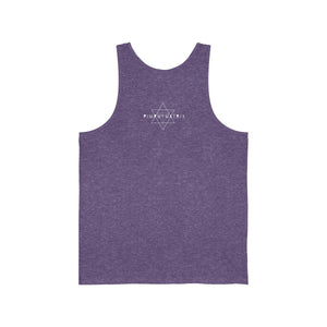 Gemini Sun Tribe Tank for Men and Women by PIMPMYMATRIX