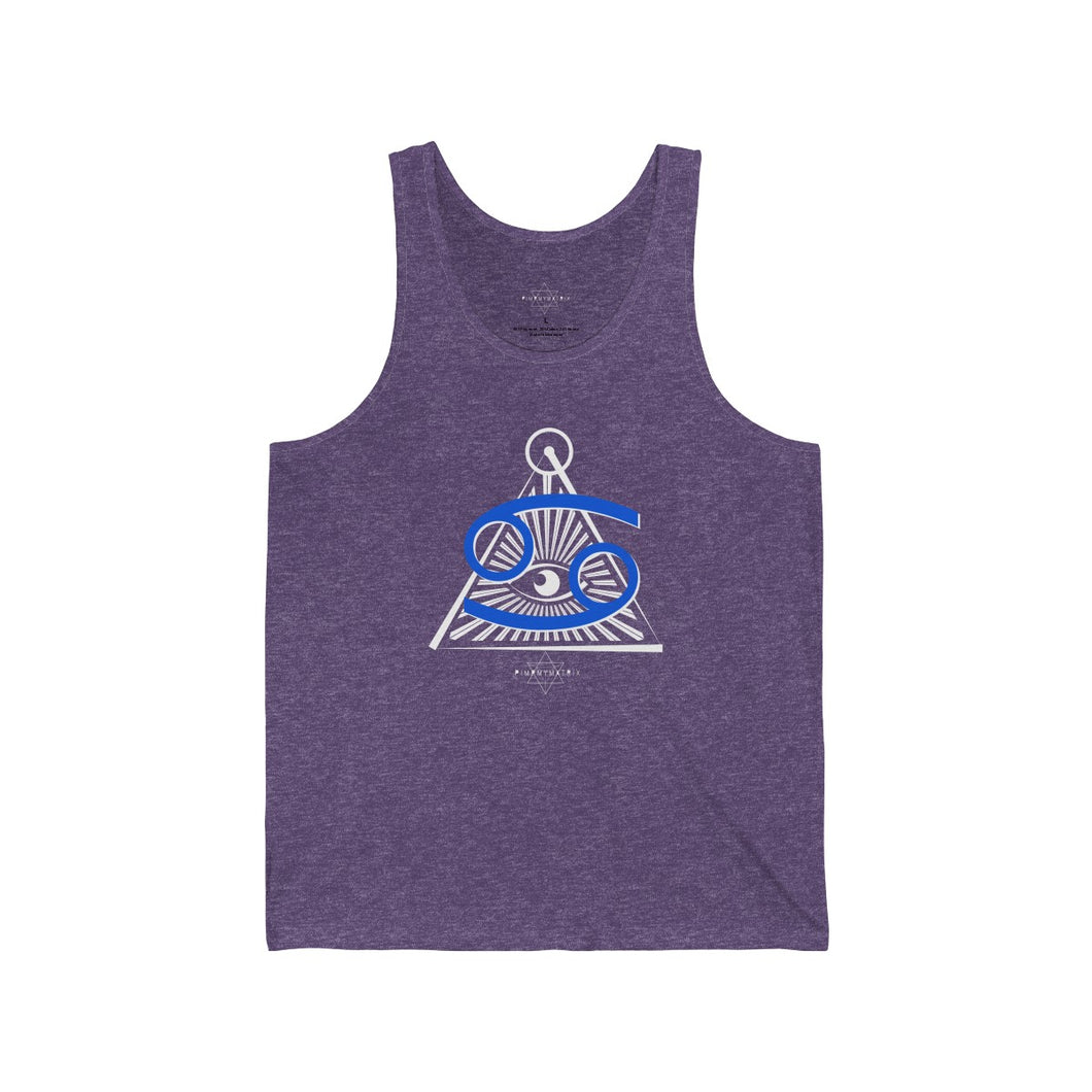 Cancer Sun Tribe Tank for Men and Women by PIMPMYMATRIX
