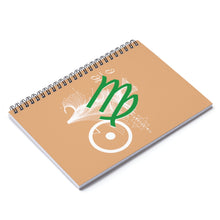 Virgo Sun Tribe Notebook