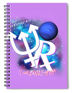 Neptune Retrograde  - Spiral Notebook