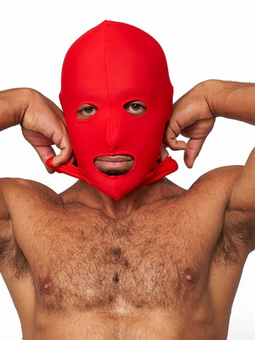 EYES AND MOUTH LYCRA HOOD