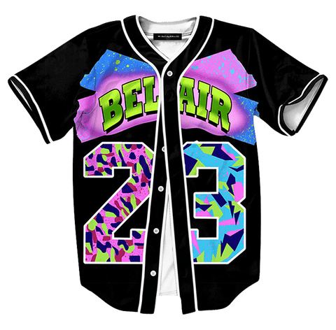 Fresh Prince of Bel Air Baseball Jersey - Hype Jerseys