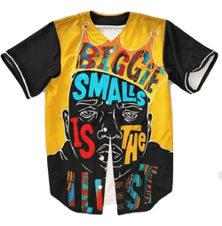 Biggie Smalls Baseball Jersey - Hype Jerseys
