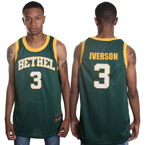Bethel High School Iverson Jersey - Hype Jerseys