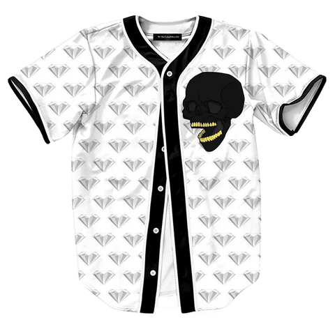 Diamonds and Skulls Jersey - Hype Jerseys