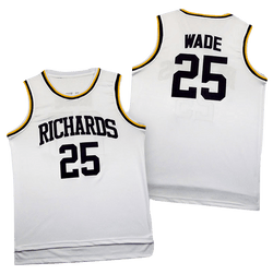 Harold L. Richards High School Dwayne Wade Jersey - Hype Jerseys