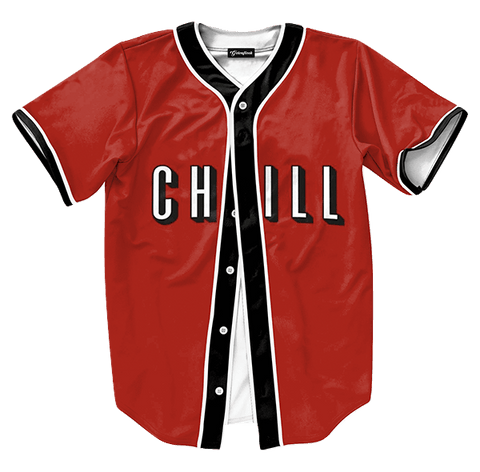 Netflix and Chill Baseball Jersey - Hype Jerseys