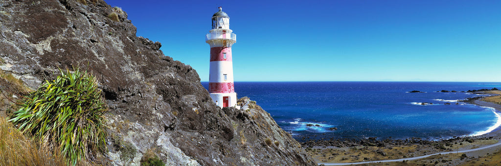 Lighthouse on the Wairarapa coastline