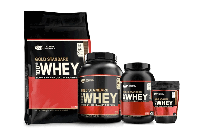 100% WHEY GOLD STANDARD COMBO
